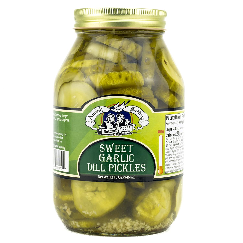 Amish Wedding Sweet Garlic Ranking TOP7 32 Oz Dill Ranking TOP17 Pickles