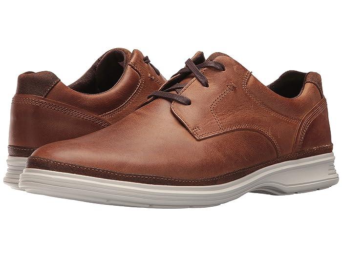 Rockport  DresSports 2 Go Plain Toe (New Caramel) Mens Shoes