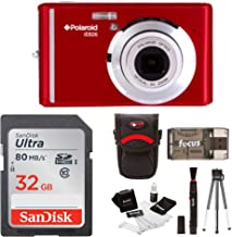 Polaroid iE826 Digital Camera, 18MP 8X Optical Zoom w/ 2.4