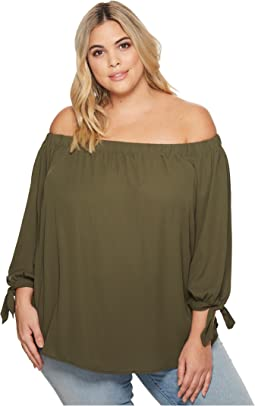 KARI LYN - Plus Size Gianna Off Shoulder Blouse