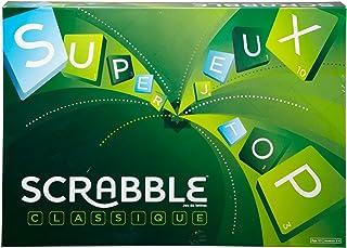 Scrabble Classique, Jeu de Société et de Lettres, Version Française, Y9593