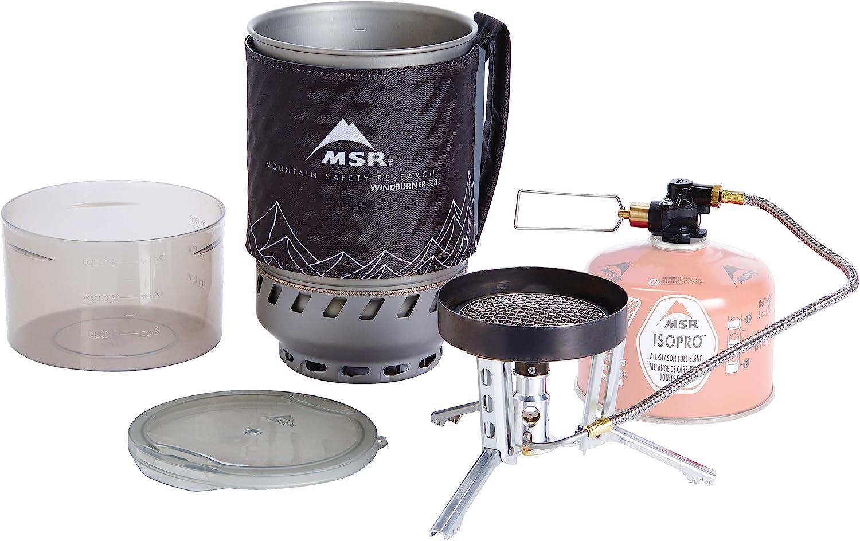 MSR Sistema De Estufa De Quemador De Viento 1.8l