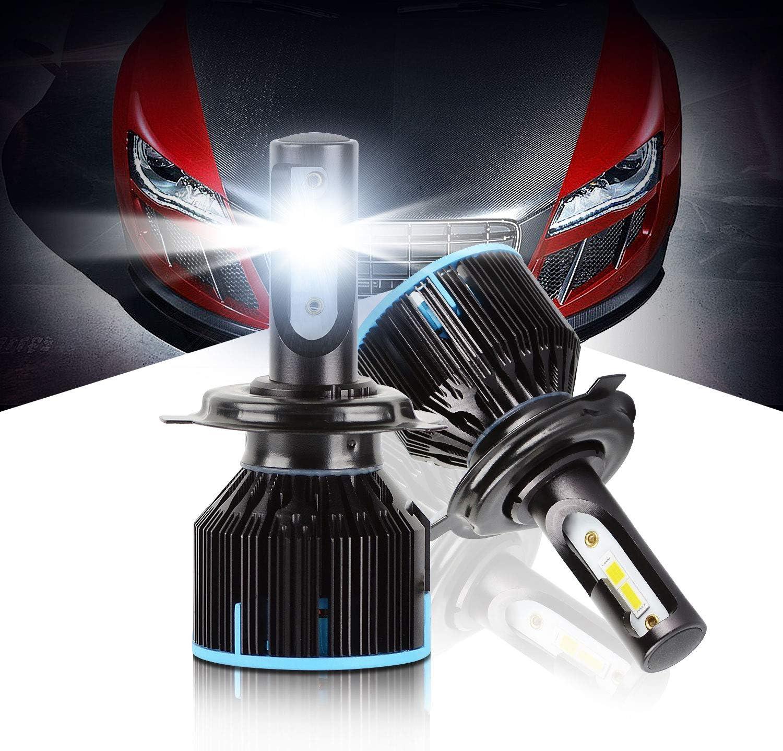 XENTRONIC LED Headlight Conversion kit H4 9003 6000K 2006-2014 ...
