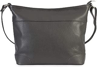 Largo bolso hobo para mujer de piel suave con correa de hombro ajustable y bolsa protectora - JANE