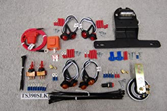SXS/UTV STREET LEGAL TURN-SIGNAL & LED LIGHTS UNIVERSAL KIT TS390SLK