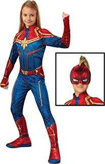 Rubie's Captain Marvel Hero Costume Suit, Large