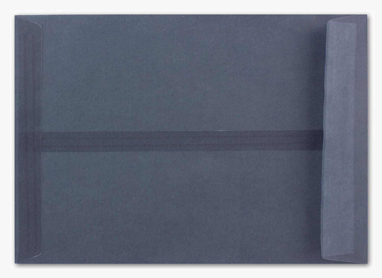 150 Stück Briefumschläge transparent Graphitgrau - DIN C5 C5 C5 16,2 x 22,9 cm - Haftklebung - seitliche Verschluss-Lasche ideal für Weihnachten B07P7RZRW9   Verschiedene Arten und Stile  393bce