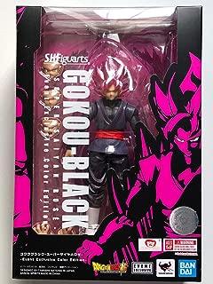 Tamashii Nations SDCC 2019 Exclusive S.H. Figuarts Dragonball Goku Black Super Saiyan Rose DBZ