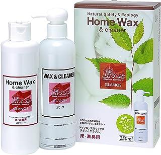 リボス 自然健康塗料 天然植物性クリーナー&ワックス グラノス(木部用) 250mL