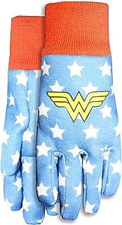 MidWest Gloves & Gear DCW102TH8 Wonder Woman Kids Jersey Garden, Red/Blue