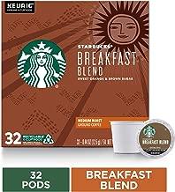 Starbucks Breakfast Blend Medium Roast Single Cup Coffee, 32 ct