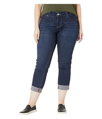 Jag Jeans Plus Size Plus Size Carter Girlfriend Jeans (Night Breeze) Women