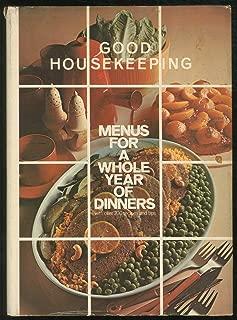 good housekeeping menus