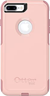 OtterBox COMMUTER SERIES Case for iPhone 8 Plus and iPhone 7 Plus (ONLY) - Frustrations Free Packaging - BALLET WAY (PINK SALT/BLUSH) (Renewed)