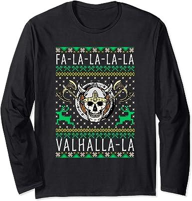 Norse Odin Viking Valhalla Thor Ragnarok Valhalla LONG SLEEVE Tshirt