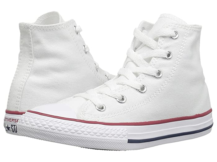 1920s Style Mens Shoes | Peaky Blinders Boots Converse Kids Chuck Taylorr All Starr Core Hi InfantToddler Optical White Kids Shoes $35.00 AT vintagedancer.com