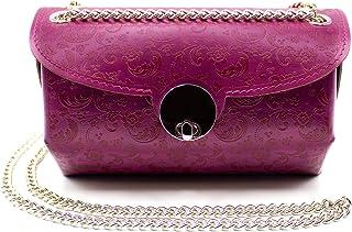 Borsa Donna Mini Bag In Pelle Lavorazione Artigianale - Made In Italy - | FP Pelletterie – Vichiana
