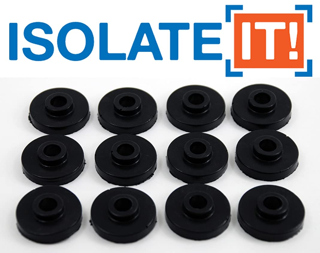 Isolate It: Sorbothane Vibration Isolation Bushing 30 Duro (.28