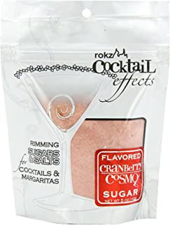 Rokz Design Group Cranberry Cosmo Sugar, 5 Ounce