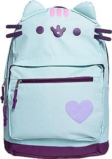 Pusheen Cat Backpack Lightweight Cute Cartoon School Backpack - Mint Green
