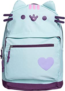 Cat Backpack Lightweight Cute Cartoon School Backpack - Mint Green