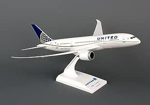Daron Skymarks SKR709 United 787-8 Airplane Model Building Kit, 1/200-Scale