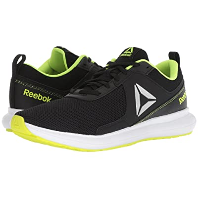 Reebok Driftium Run (Black/Ash Grey/Solar Yellow/White) Men