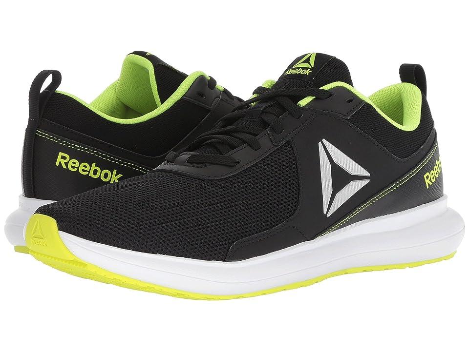 Reebok Driftium Run (Black/Ash Grey/Solar Yellow/White) Men