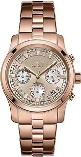 JBW Luxury Women's Alessandra 21 Diamonds Chronograph Metal Watch