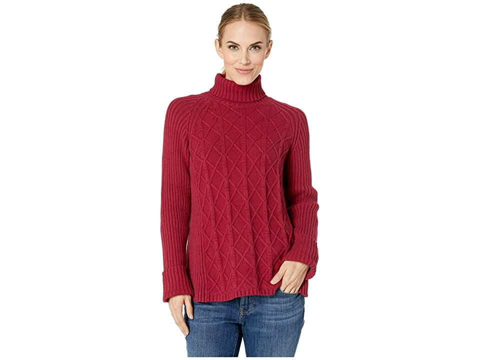 Royal Robbins Frost Turtleneck (Rumba Red) Women