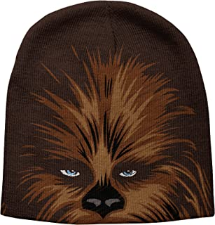 STAR WARS Men's Chewbacca Beanie, Brown, One Size fits Most