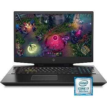 Omen by HP 2019 17-Inch Gaming Laptop, Intel i7-9750H, NVIDIA GeForce RTX 2070 (8 GB), 16 GB RAM, 512 GB Solid-State Drive, VR Ready, Windows 10 Home (17-cb0080nr, Shadow Black)