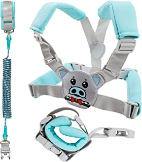 Toddler Leash for Kids Boys, Anti Lost Wrist Link Safety Harnesses Leashes