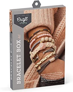 Craft Crush DIY Bracelet Box Blush