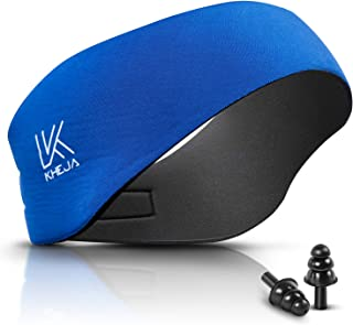 KHEJA Jelleo Swimming Headband with Free Swimming Earplugs - Hold Earplugs in, Physician Developed, Doctor Recommended ­