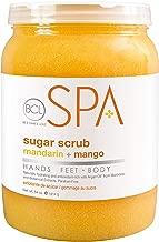 Bio Creative Lab BCL Spa Sugar Scrub, Mandarin and Mango, 64 Ounce