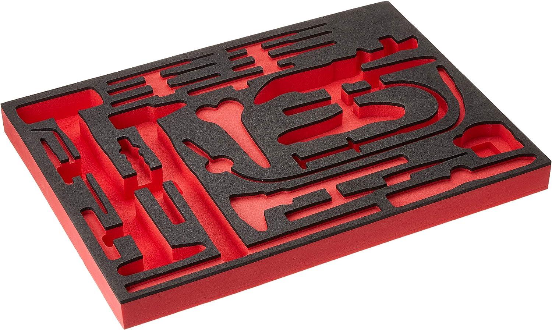 FACOM Schaumstoffeinlage Schaumstoffeinlage Schaumstoffeinlage 5 Cuae56, 1 Stück, PM.MODMCUAE56-5 B01A5L2UQ0 | Geeignet für Farbe  9d0e0c