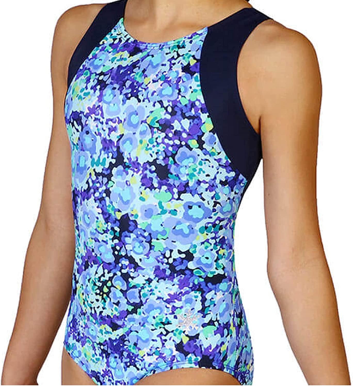 Snowflake Designs Boho Same day shipping Garden Girls Limited time sale or Dance Gymnastics Leotard
