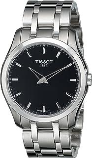 Men's T0354461105100 Analog Display Quartz Silver Watch