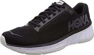 HOKA ONE ONE Men's Cavu Running Shoe Black/White Size 9 M US
