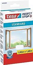 tesa Insect Stop Standard Vliegenhor voor ramen - Insectenhor, raamhor - Met klittenband - Makkelijk op maat snijden - Mug...