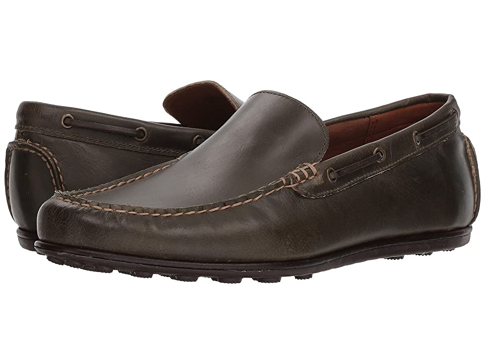 Frye Venetian Driving Moc (Olive Leather) Men