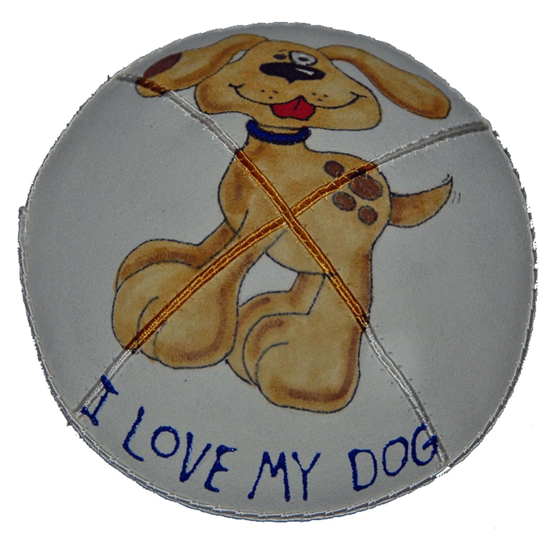 Hand-painted Kippah Yarmulke 2021 model Max 52% OFF with dog my Love