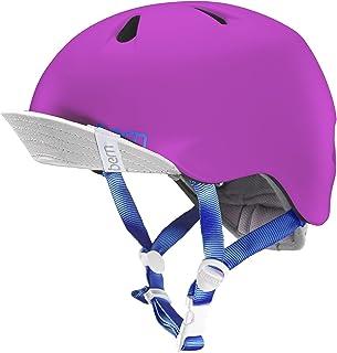 bern(バーン) ヘルメット NINA ガールズ 自転車 スケートボード BE-VJGSPNKV-11 Satin Hot Pink XS/S