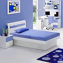 "Irvine Home Collection M7Blue Kids 6"" Gel Memory Foam Size Mattress   CertiPUR-US Certified   Medium Firm Sleep Experience..."