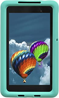 Bobj Rugged Case for Nexus 7 FHD 2013 Model Tablet - BobjGear Custom Fit - Patented Venting - Sound Amplification - BobjBounces Kid Friendly (Not for 1st Generation 2012 Nexus 7) (Terrific Turquoise)