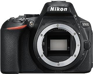 Nikon D5600- Cámara réflex de 24.2 MP sin objectivo (pantalla táctil de 3 Full HD) negro versión europea