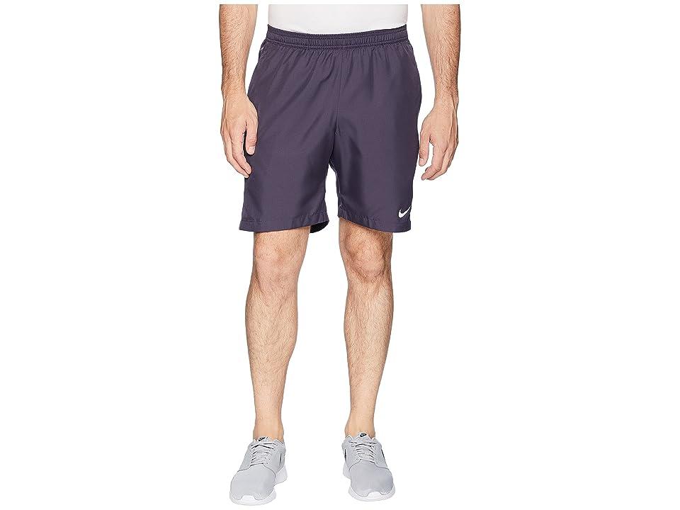 Nike Court Dry 9 Tennis Short (Gridiron/Gridiron/White) Men