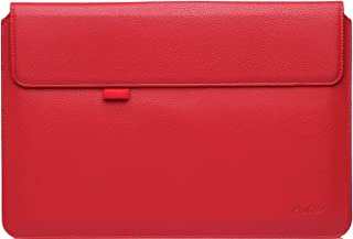 ProCase Surface Pro 7/Pro 6/Pro 2017/ Pro 4 3/ Pro LTE Sleeve Case, 12 Inch Laptop Bag Tablet Protective Cover for Microsoft Surface Pro 2017/Pro 7 6 4 3, Compatible with Type Cover Keyboard -Red