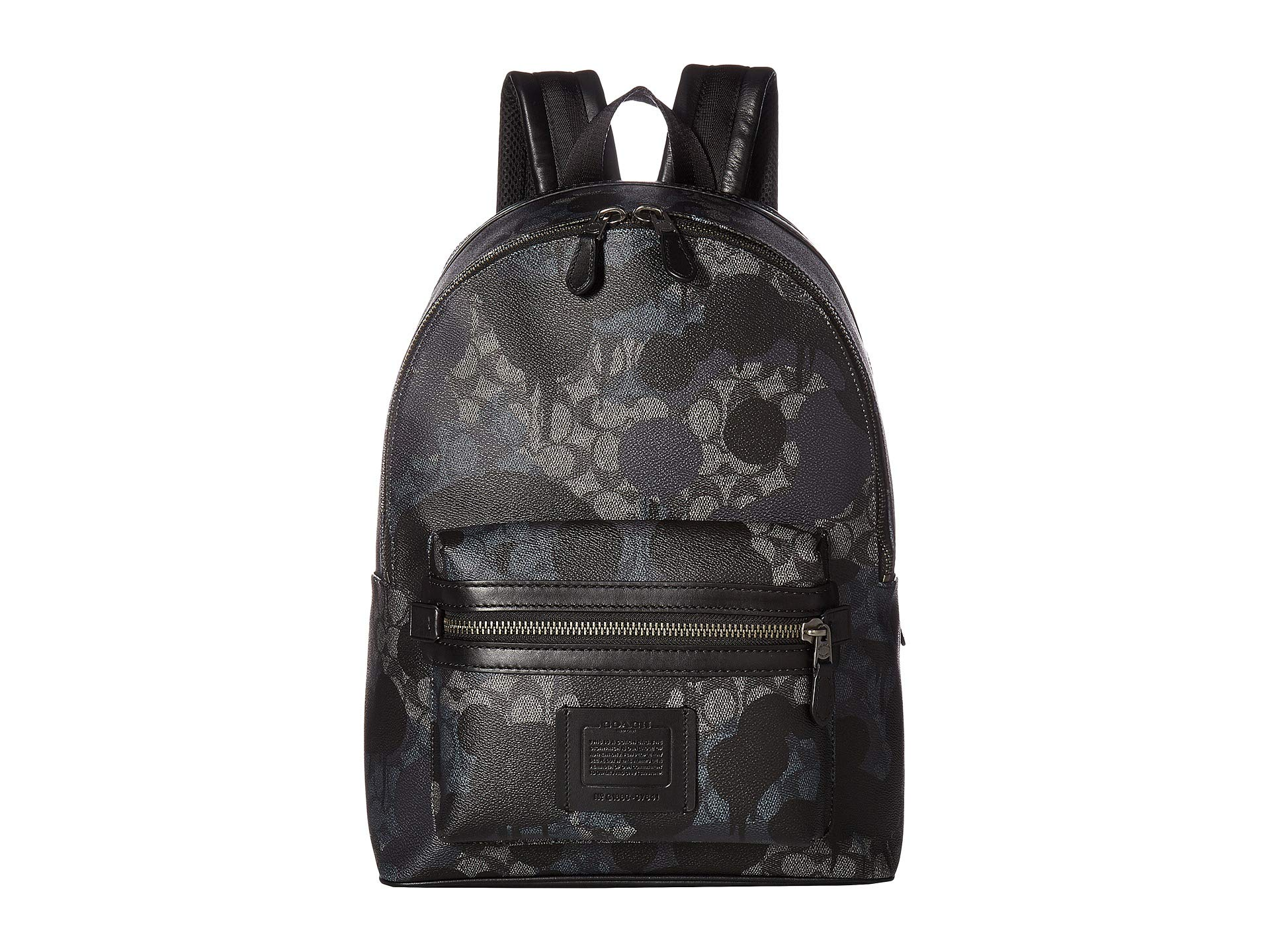 Coach Academy Signature Beast Wild Backpack In Grey ffqFrS